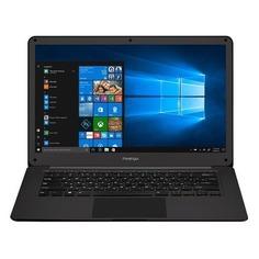 "Ноутбук PRESTIGIO SmartBook 141C2, 14.1"", Intel Celeron N3350 1.1ГГц, 4Гб, 32Гб eMMC, Intel HD Graphics 500, Windows 10 Home, PSB141C02CFH_BK_CIS, серый"
