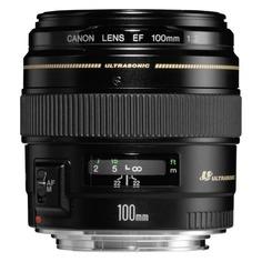 Объектив CANON 100mm f/2 EF USM, Canon EF [2518a012]