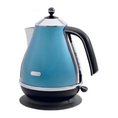 Чайник электрический DELONGHI KBO 2001.B, 2000Вт, голубой Delonghi