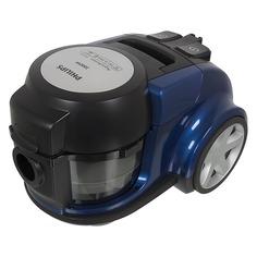 Пылесос PHILIPS AquaAction FC8952/01, 2000Вт, синий