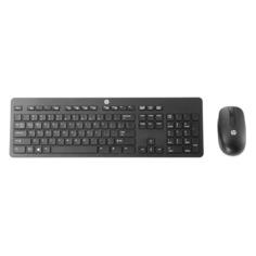 Комплект (клавиатура+мышь) HP T6L04AA, USB, беспроводной, черный