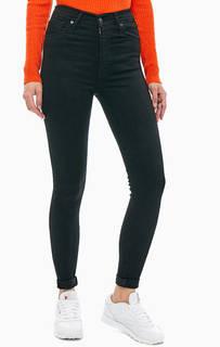 Черные джинсы Mile High Super Skinny Levis