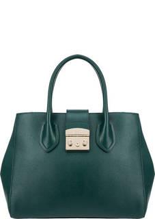 Кожаная сумка с плечевым ремнем Metropolis Furla