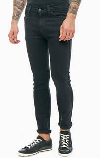 Черные джинсы скинни с карманами Line 8 Skinny Levis