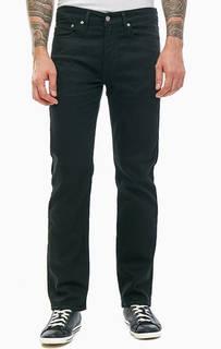 Зауженные джинсы черного цвета с карманами 514™ Straight Levis