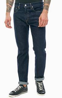 Зауженные синие джинсы с низкой посадкой 502™ Regular Taper Levis