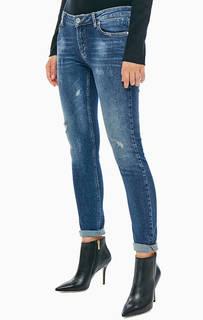 Зауженные синие джинсы со стандартной посадкой Kate Silvian Heach