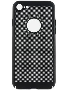 Аксессуар Чехол BROSCO Perforated для APPLE iPhone 8 Black IP8-HOLE-BLACK