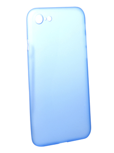Аксессуар Чехол BROSCO Superslim для APPLE iPhone 7 Blue IP7-PP-SUPERSLIM-BLUE