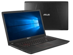 Ноутбук ASUS FX753VD-GC128T 90NB0DM3-M09510 Black Metal (Intel Core i7-7700HQ 2.8 GHz/8192Mb/1000Gb + 256Gb SSD/No ODD/nVidia GeForce GTX 1050 2048Mb/Wi-Fi/Bluetooth/Cam/17.3/1920x1080/Windows 10 64-bit)