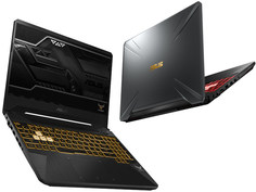 Ноутбук ASUS FX505GM-ES011T 90NR0131-M00470 Gunmetal (Intel Core i7-8750H 2.2 GHz/8192Mb/1000Gb + 256Gb SSD/No ODD/nVidia GeForce GTX 1060 6144Mb/Wi-Fi/Bluetooth/Cam/15.6/1920x1080/Windows 10 64-bit)