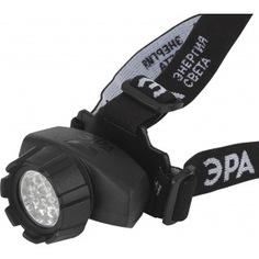 Налобный фонарь эра gb-603 14xled, 3xaaa, 4 режима, черный б0031383