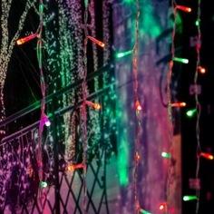 Гирлянда neon-night дождь, занавес, 2х2.0м, прозрачный пвх, свечение с динамикой, 200 led rgb 235-349