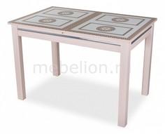 Стол обеденный Вальс-1 со стеклом Домотека