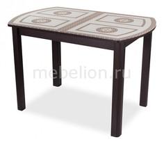 Стол обеденный Танго ПО-1 со стеклом Домотека