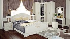 Гарнитур для спальни Лючия ГН-235.001 Мебель Трия