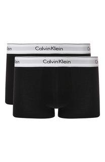 Комплект из двух хлопковых боксеров с широкой резинкой Calvin Klein Underwear