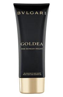 Жемчужный гель для душа и ванны Goldea The Roman Night BVLGARI