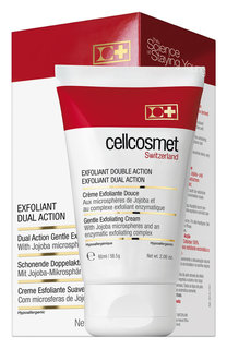 Мягкий отшелушивающий крем двойного действия Cellcosmet&Cellmen Cellcosmet&;Cellmen