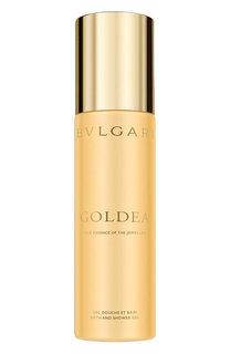 Гель для ванной и душа Goldea BVLGARI