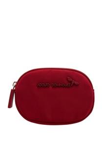 Красный кошелек с логотипом Adolfo Dominguez