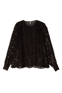 Черная блузка с пайетками Midway Isabel Marant