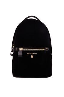 Черный рюкзак Nylon Kelsey Michael Kors