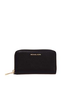 Черный чехол для телефона с логотипом Money Pieces Michael Kors
