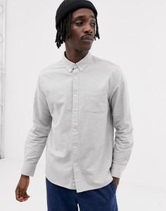 Серая меланжевая рубашка классического кроя Penfield Hingham - Серый