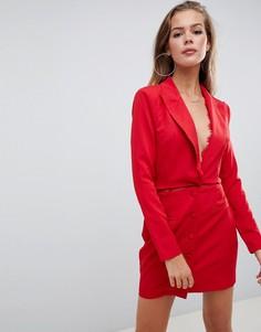 Красное платье-блейзер Missguided - Красный