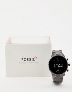 Смарт-часы Fossil FTW4012 Gen 4 Q Explorist, 45 мм - Серый