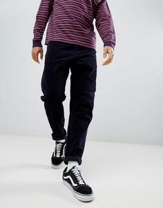 Темно-синие вельветовые брюки Carhartt WIP Newel - Темно-синий