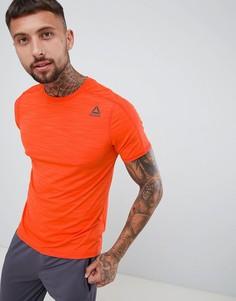 Оранжевая футболка Reebok Training Activchill Move D93747 - Оранжевый