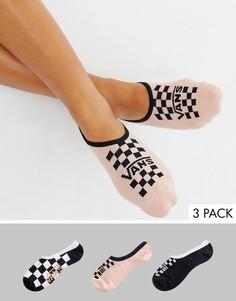 3 пары невидимых носков Vans - Мульти