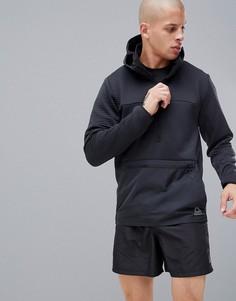 Черная куртка на молнии Reebok Training Thermo Warm Half CY4913 - Черный