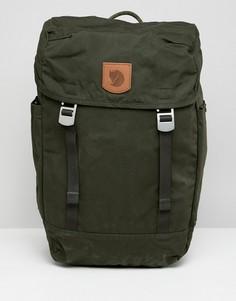 Зеленый рюкзак с клапаном Fjallraven Greenland, 20 л - Зеленый