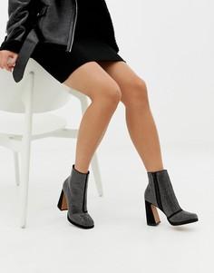 Ботинки на платформе ASOS DESIGN Emira - Мульти