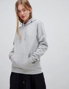 Оверсайз-худи New Look - Серый