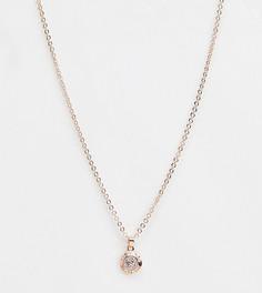 Ожерелье с маленькой подвеской-пуговицей Ted Baker - Золотой