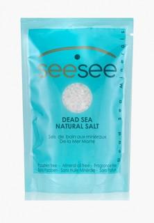 Соль для ванн SeeSee Мертвого моря 200 г