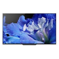 """OLED-телевизор SONY BRAVIA KD55AF8BR2 54.6"""", Ultra HD 4K (2160p), черный/ серебристый"""