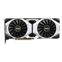 Видеокарта MSI nVidia GeForce RTX 2080 , RTX 2080 VENTUS 8G OC, 8Гб, GDDR6, OC, Ret