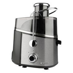 Соковыжималка VITEK VT-3657-01, центробежная, серебристый и черный