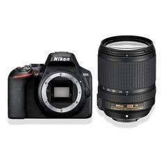 Зеркальный фотоаппарат NIKON D3500 kit ( 18-140mm f/3.5-5.6 VR), черный