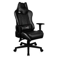 Кресло игровое AEROCOOL AC220 RGB-B, ПВХ/полиуретан [516642]