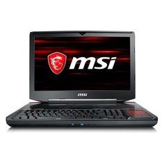 "Ноутбук MSI GT83 Titan 8RG-005RU, 18.4"", Intel Core i7 8850H 2.6ГГц, 32Гб, 1000Гб, 512Гб SSD, 2хnVidia GeForce GTX 1080 SLI - 8192 Мб, Blu-Ray Re, Windows 10, 9S7-181612-005, черный"