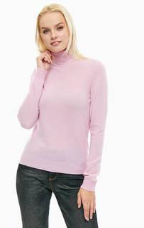 Водолазка из шерсти розового цвета United Colors of Benetton