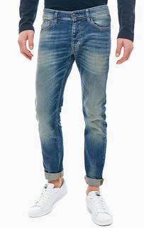 Зауженные джинсы на болтах United Colors of Benetton