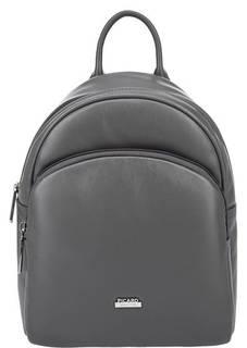Рюкзак из гладкой кожи серого цвета Picard