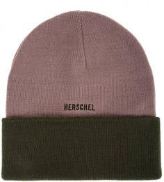Двухцветная шапка мелкой с отворотом Herschel